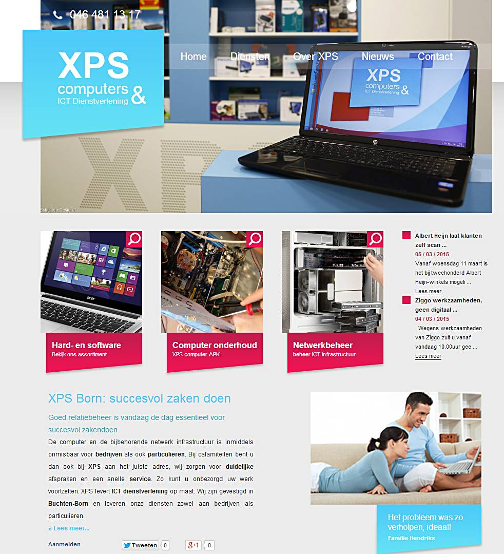 SD op XPS website